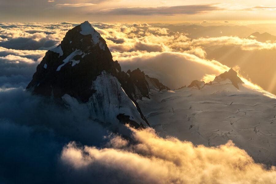 Mount Aspiring sunrise, West Coast New Zealand