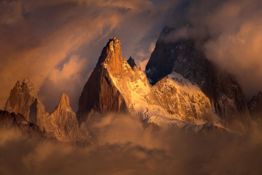 Poincenot sunrise, Patagonia