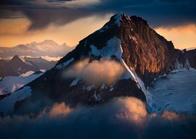 Mount Aspiring and Mount Cook