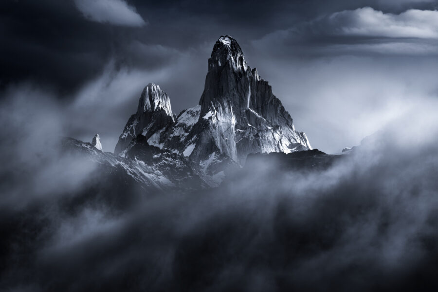 Mount Fitzroy, north face