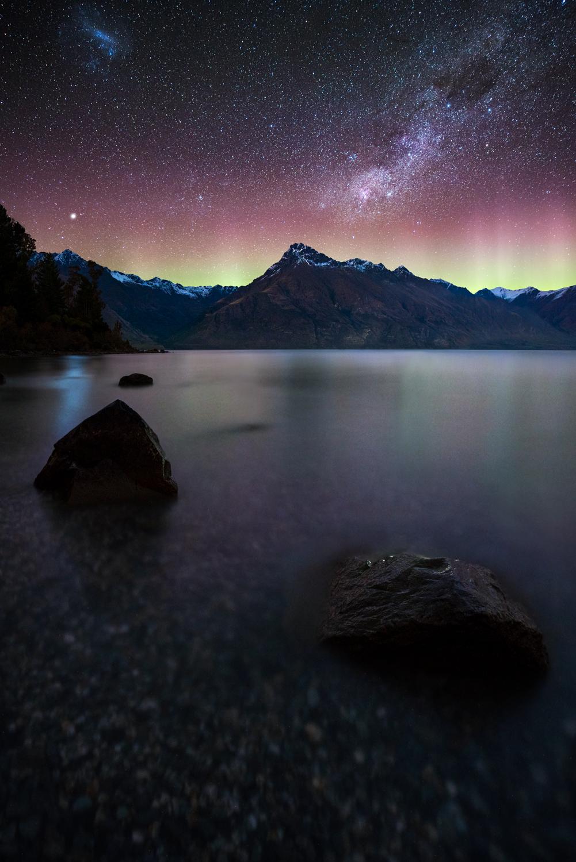 The Aurora Australis, Queenstown New Zealand
