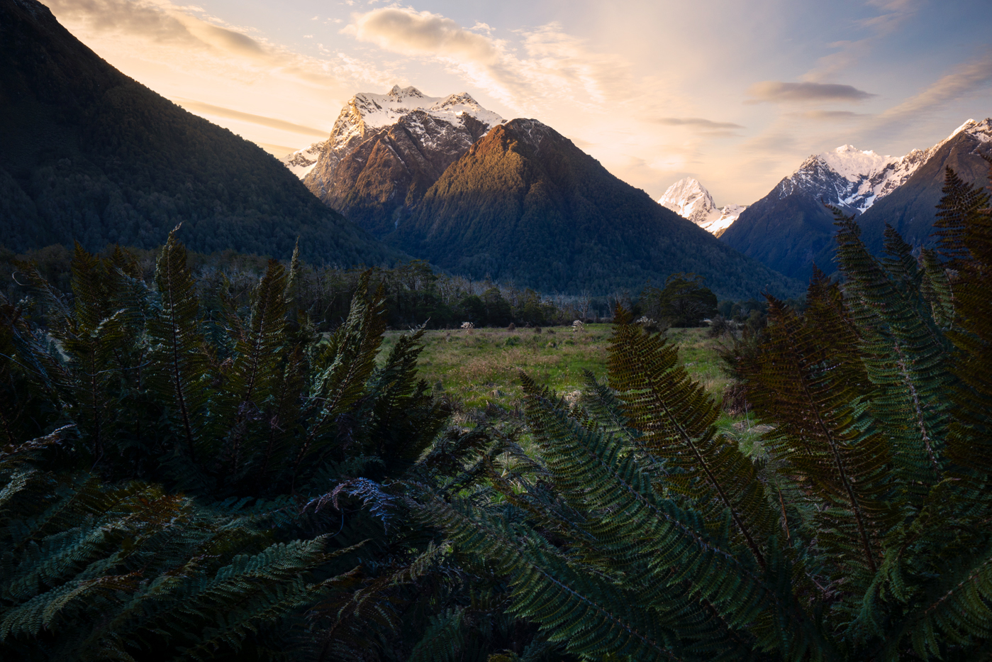 The Eglinton Valley, Fiordland New Zealand