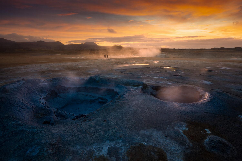 Mud pots, Hverir Iceland