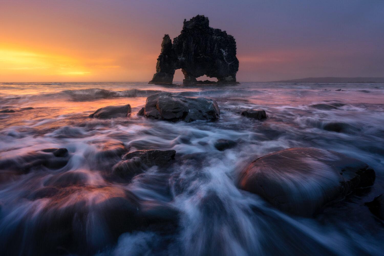Hvitserkur sea stack, Iceland