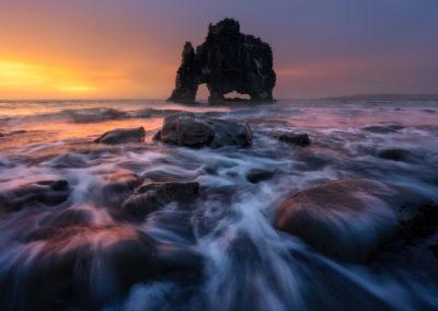 Hvitserkur-Iceland-WilliamPatino-Sunrise