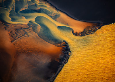 Iceland-Aerial-River-Abstract