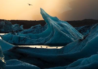Jokulsarlon-glacierlagoon