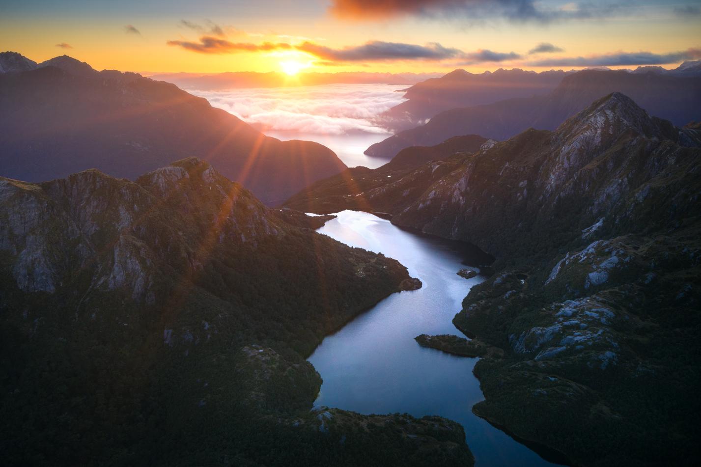 The Norwest Lakes, Fiordland New Zealand