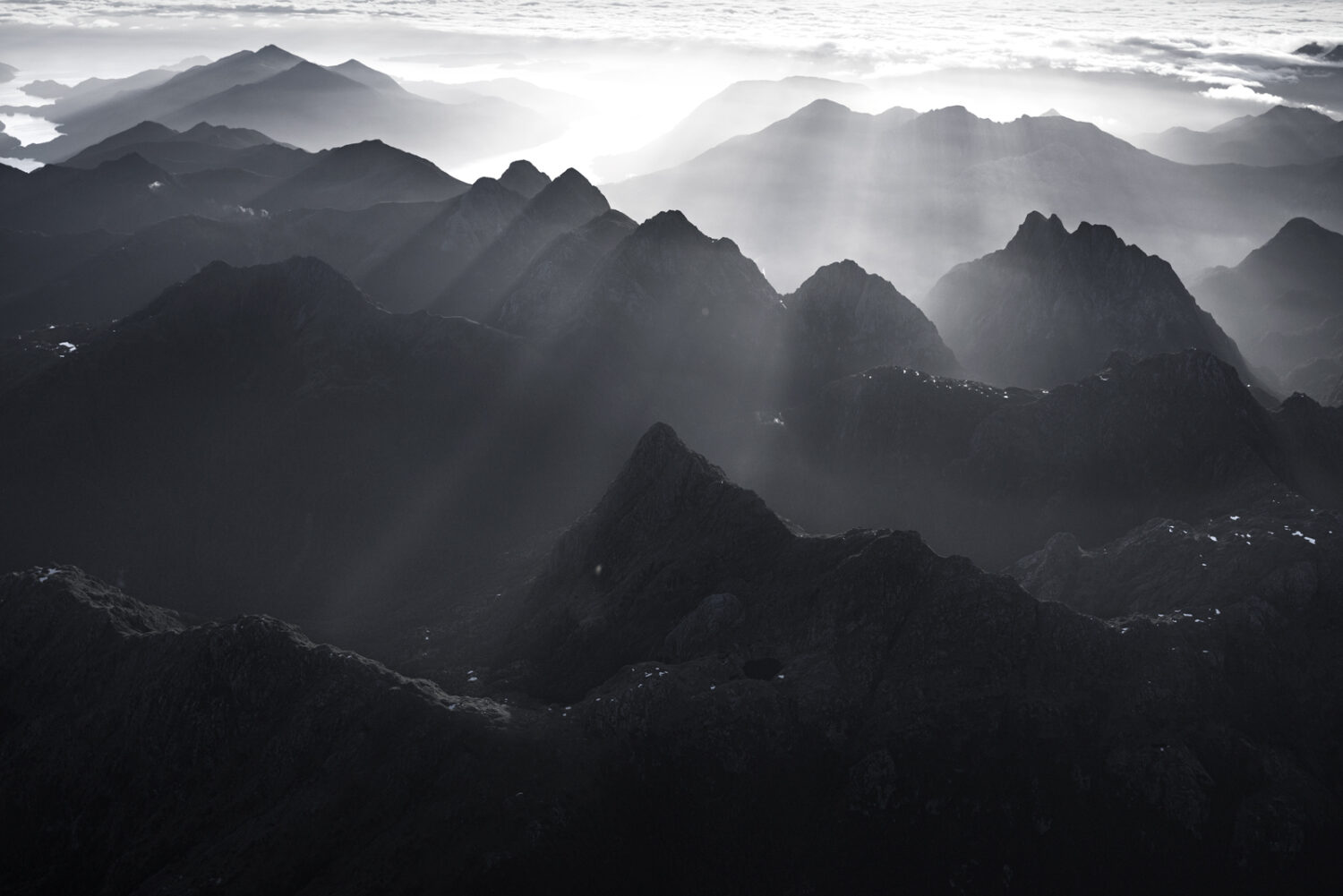 Mountains and light