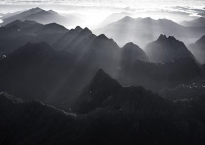 BlackandWhite-Fiordland-NewZealand