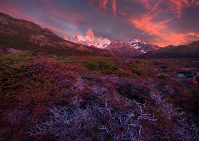 Patagonia, Sunrise light