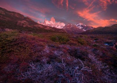 Fitzroy-patagonia-RedSunrise