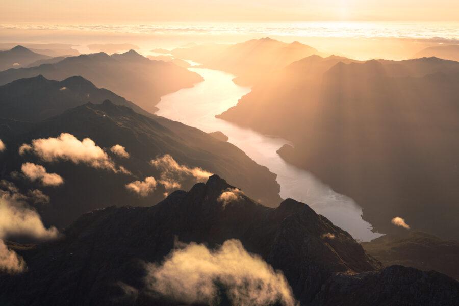 Sunset Fiord