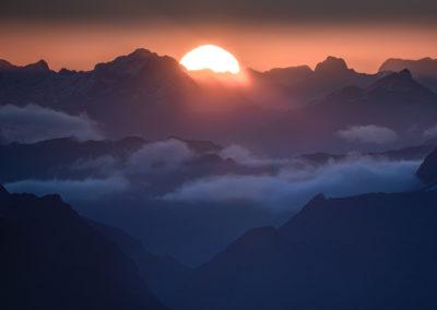 Sunball-Fiordland-Sunset