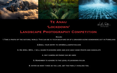 Te Anau 'Lockdown' Photography Competition