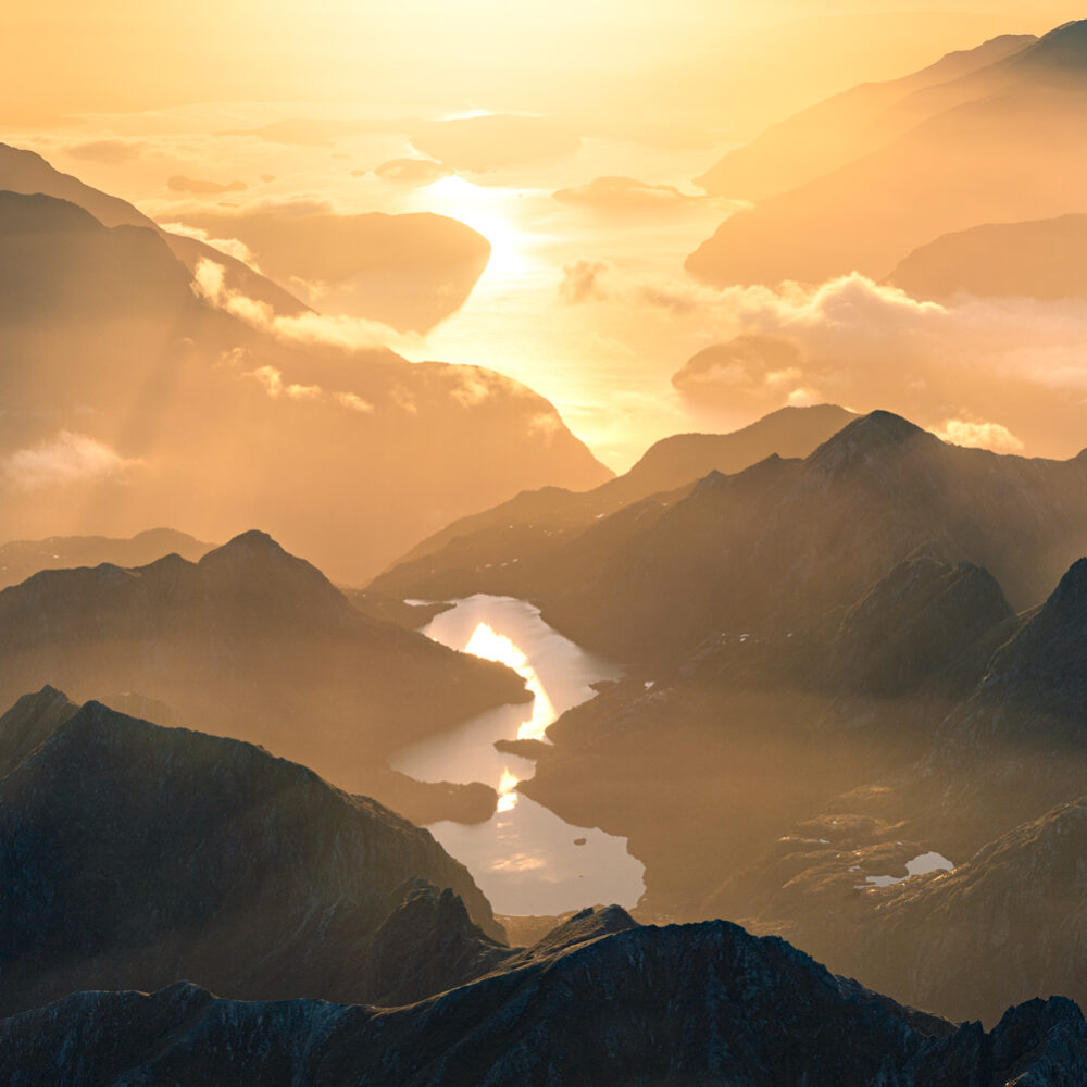 Fiordland aerial photography, Copyright William Patino