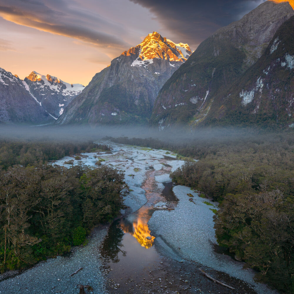 Mount Tutoko Fiordland, Copyright William Patino