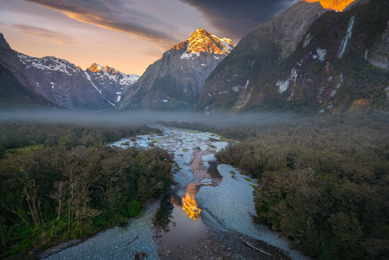 Mount Tutoko Fiordland, Copyright William Patino