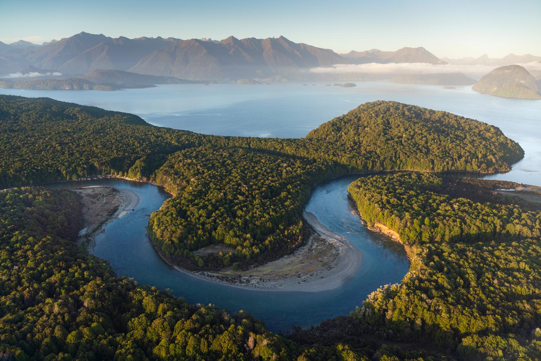 Waiau River, Lake Manapouri, Copyright William Patino