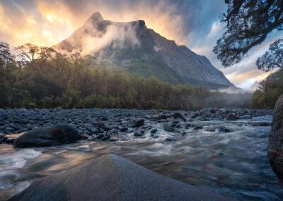Fiordland light, atmosphere, Copyright William Patino, New Zealand Landscape Photographer