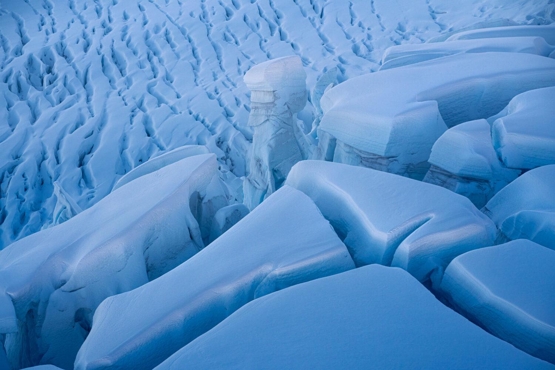 Ice Crevasse, Copyright William Patino, New Zealand Landscape Photographer
