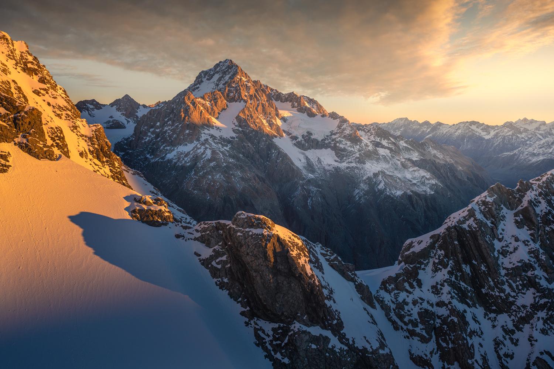 Southern Alps, D'Archiac, Copyright William Patino, New Zealand Landscape Photographer