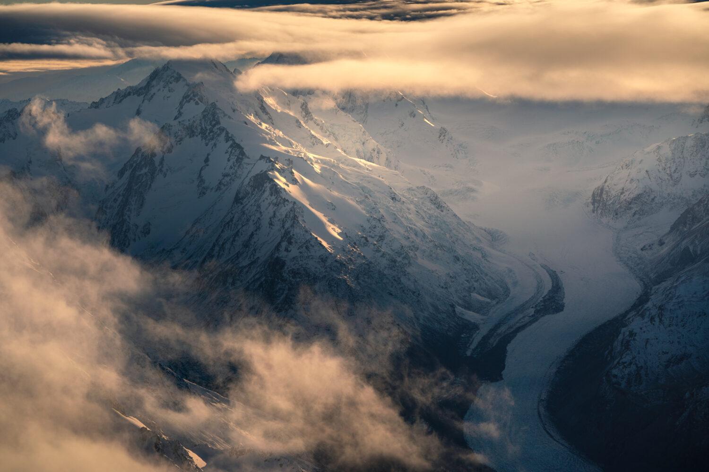 Tasman Glacier, Copyright William Patino, New Zealand Landscape Photographer