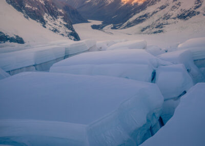 Tasman Glacier and Aoraki, Copyright William Patino, New Zealand Landscape Photographer