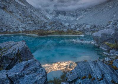 Southern Alps, Ice Lake Copyright William Patino, New Zealand Landscape Photographer