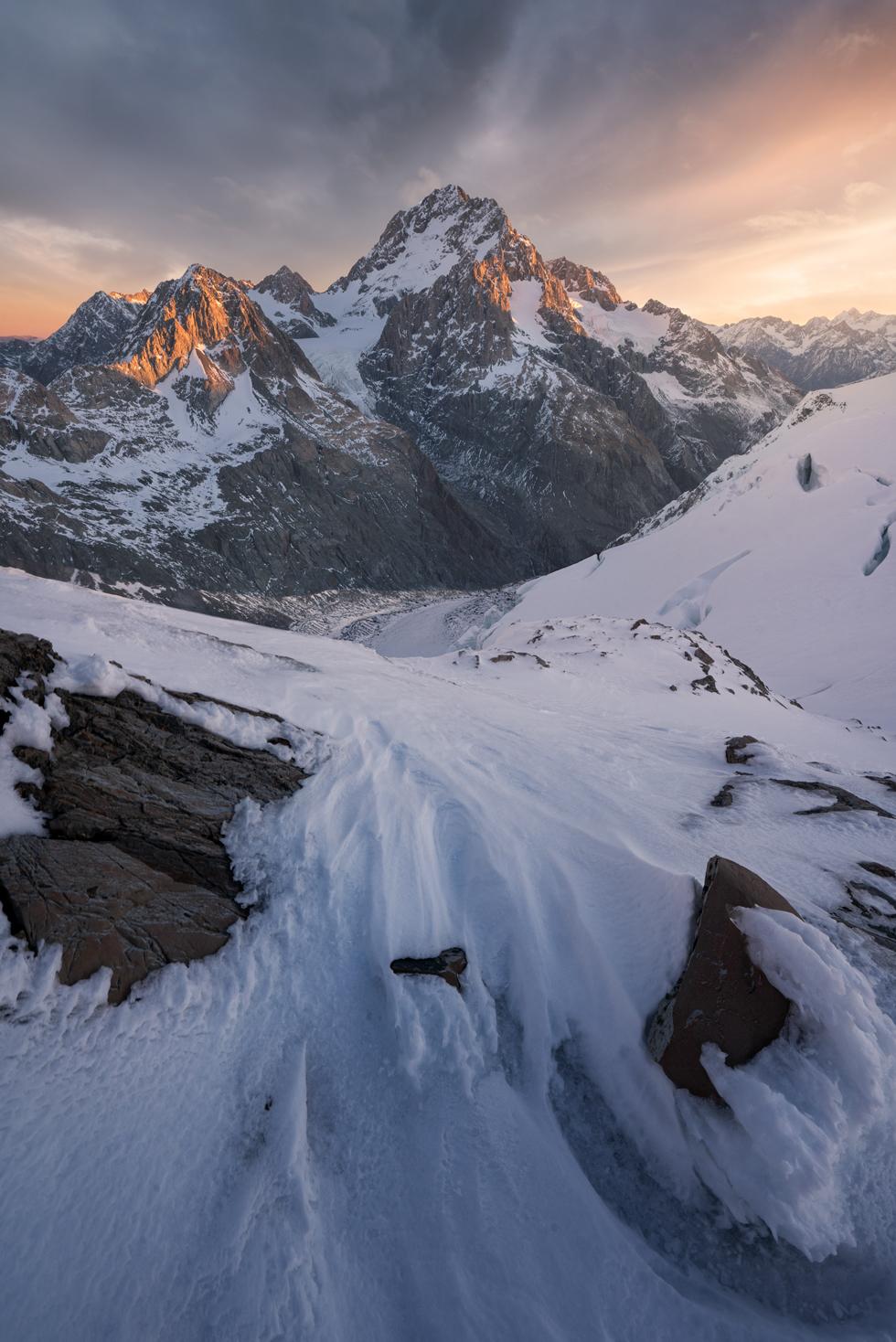 Southern Alps, D'Archiac Copyright William Patino, New Zealand Landscape Photographer