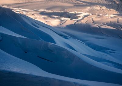 Ice Field New Zealand, Copyright William Patino, New Zealand Landscape Photographer