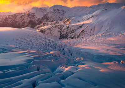 New Zealand Glacier, Copyright William Patino Photography