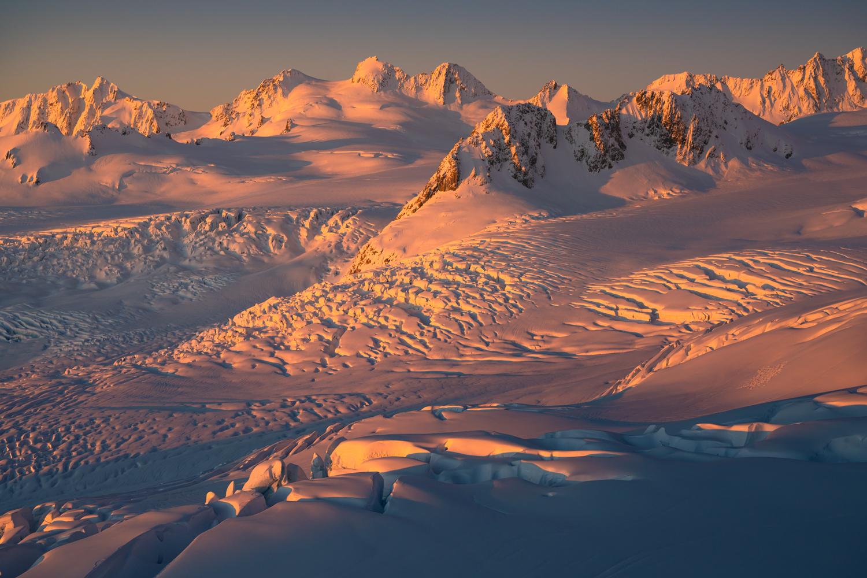 New Zealand Ice Field, Copyright William Patino Photography