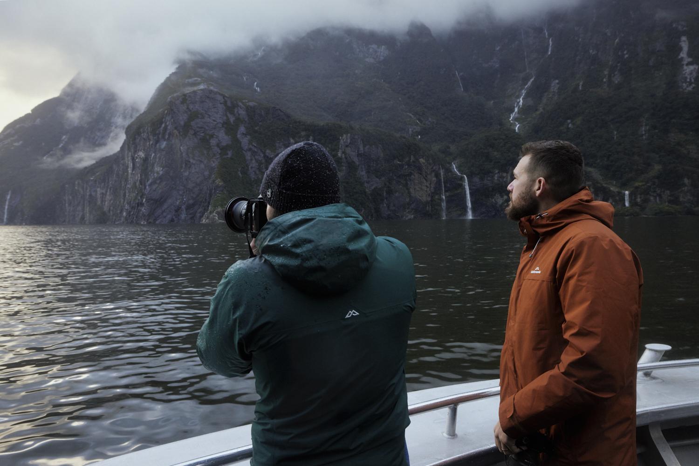 New Zealand Landscape Photography Workshop Fiordland Milford Sound Cruise