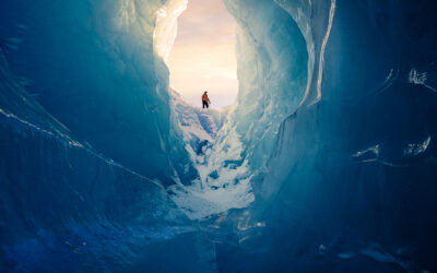 ICE – The Frozen Surface Of New Zealand