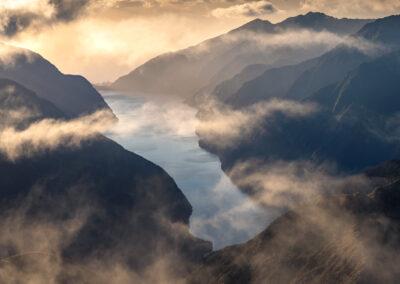 Charles Sound Fiordland NZ